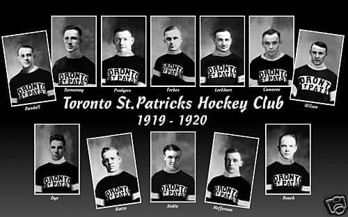 1919-1920 Toronto St Patricks