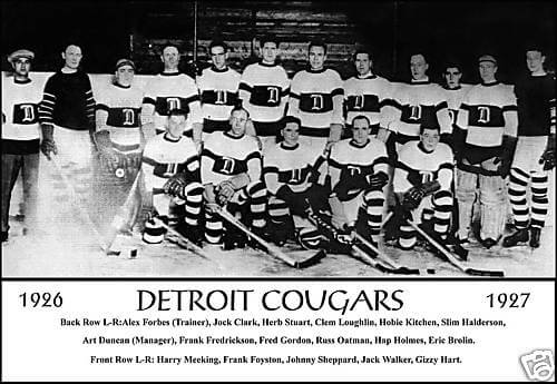 1926-1927 Detroit Cougars