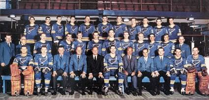 1967-68 St Louis Blues