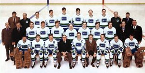 1970-71 Vancouver Canucks team photo