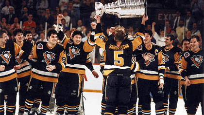 1991-Stanley-Cup-celebration