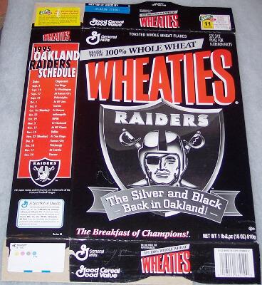 1995 Return to Oakland - Raiders