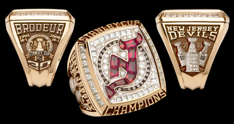 2003 Stanley Cup - New Jersey Devils Ring