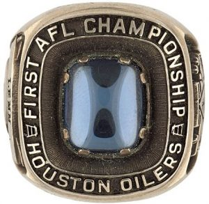 AFL Champs Houston Oilers 1960
