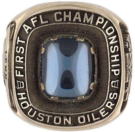 AFL Champs Houston Oilers 1960