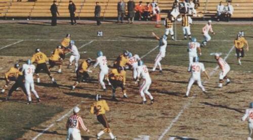 AFL1960 broncos vs houston