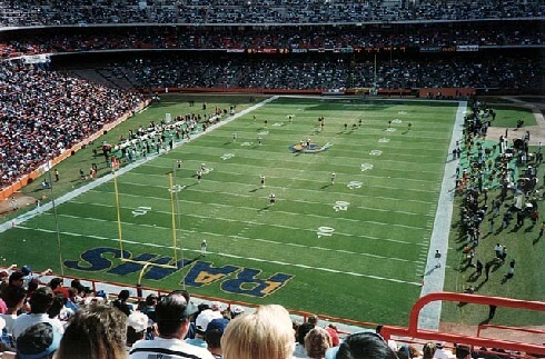 Anaheim Stadium - Los Angeles Rams 1979