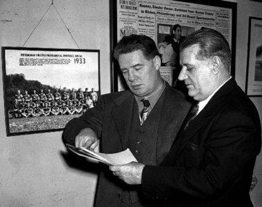 Bell:Rooney Philadelphia Eagles 1940