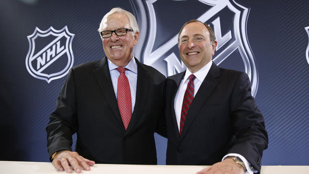 Bettman and Foley - Vegas Awarded Expansion
