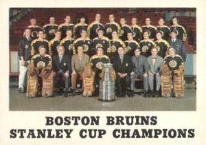 Boston Bruins Stanley Cup 1970