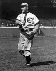 Carl Lundgren Chicago Cubs 1902