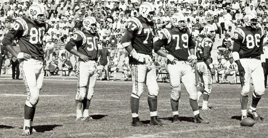 Chargers Defense 1961