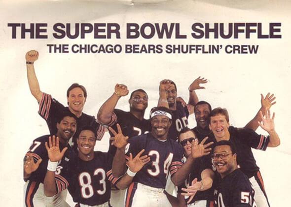Chicago Bears Super Bowl Shuffle 1985