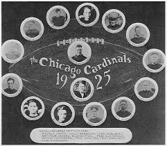 Chicago Cardinals 1925 Championship