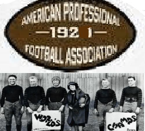 Chicago Staleys 1921 Championship