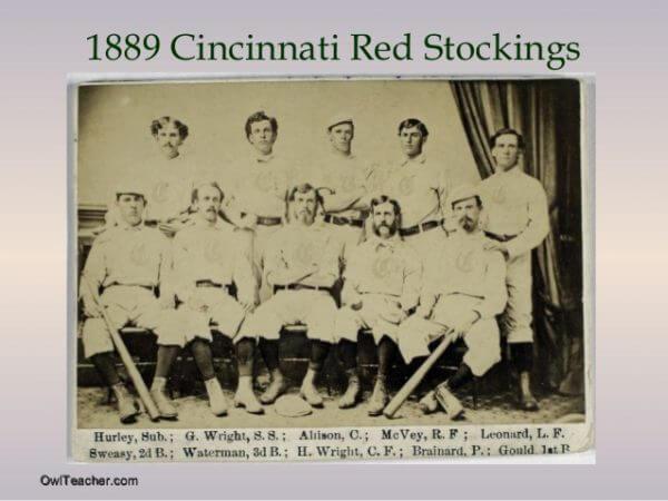 Cincinnati Reds 1889