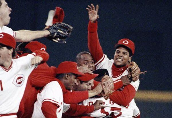 Cincinnati Reds World Series 1990