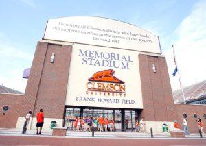 Clemson University's Memorial Stadium