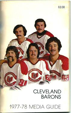 Cleveland Barons Media Guide 1978