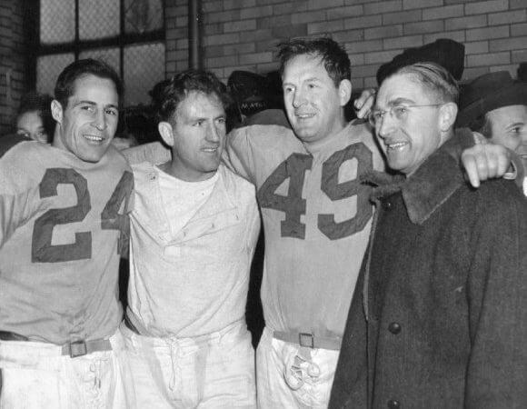Cleveland Rams 1945 Championship