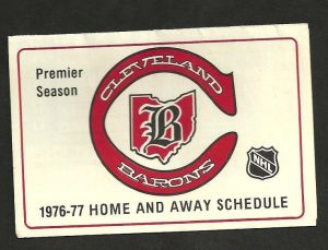 Cleveland Barons 1976