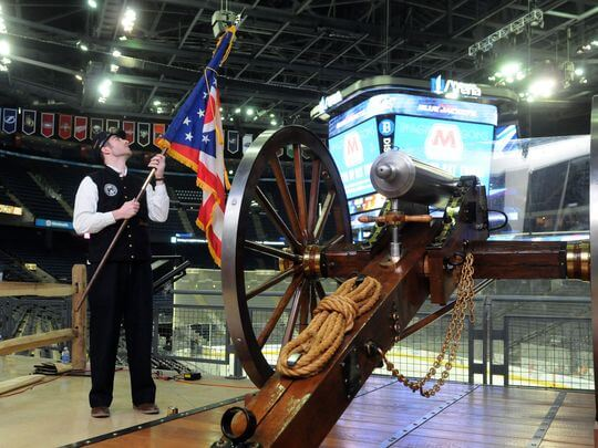 Columbus Blue Jackets The Cannon
