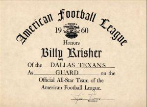 Dallas Texans 1960