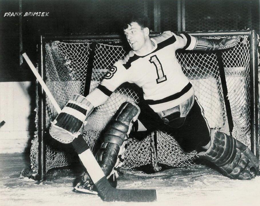 Frank_Brimsek_Boston Bruins 1941