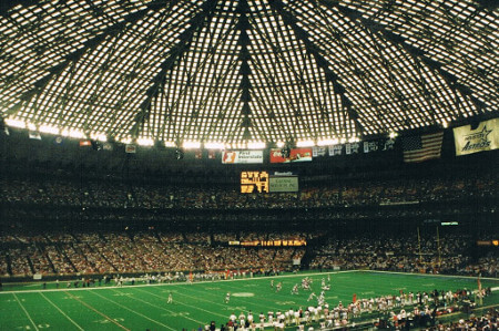 Houston Astrodome 1968