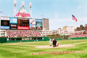 Jacobs Field Opens