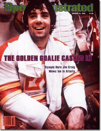 Jim Craig -Atlanta Flames 1979