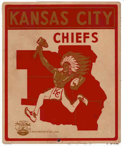 Kansas City Chiefs 1963