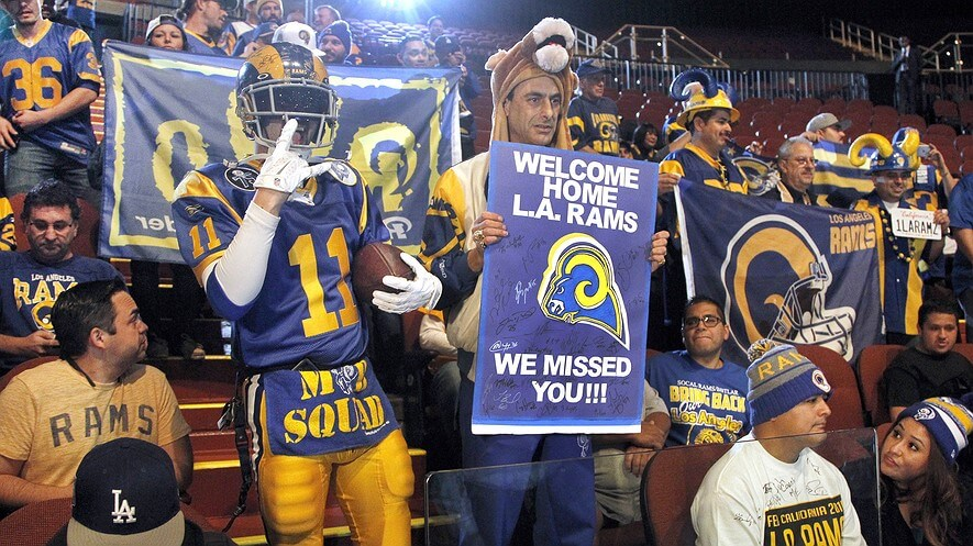 LA Rams Return 2016