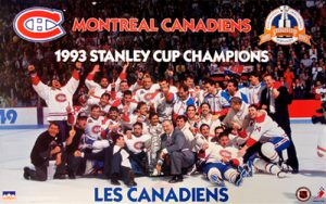 Montreal Canadiens Stanley Cup 1993
