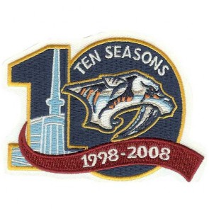 Nashville Predators 10 seasons
