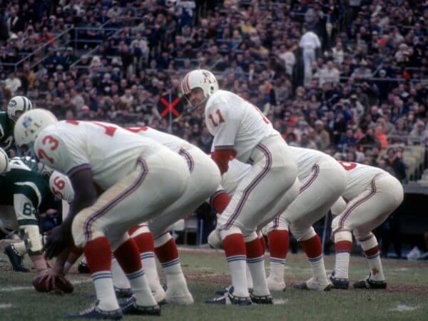 New England Patriots 1971