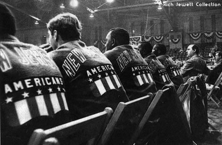 New Jersey Americans Bench 1967