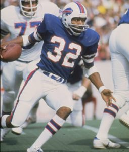 O.J. Simpson of the Buffalo Bills in action