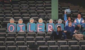 Oilers Leave for Nashville