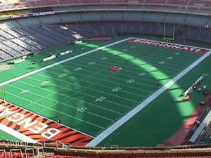 Riverfront Stadium - Cincinnati Bengals