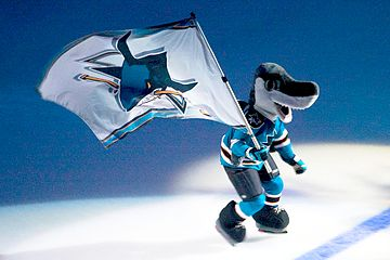 Sharkie_with_flag 1991