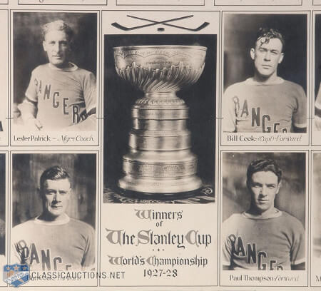 Stanley Cup - 1928 New York Rangers
