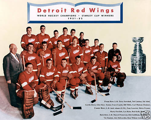 Stanley Cup 1952