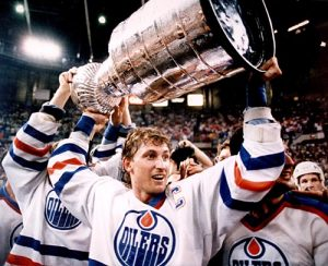 Stanley Cup - 1984 Oilers Gretzky