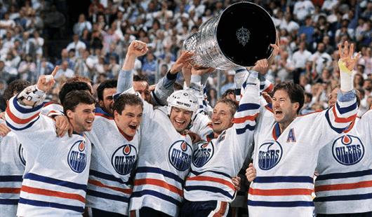Stanley Cup - 1987 Edmonton Oilers