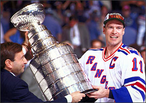 Stanley Cup - 1994 Mark Messier Rangers