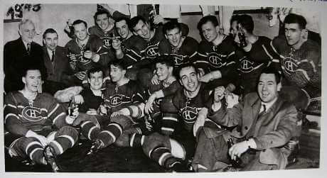 Stanley Cup Champions Montreal Canadiens