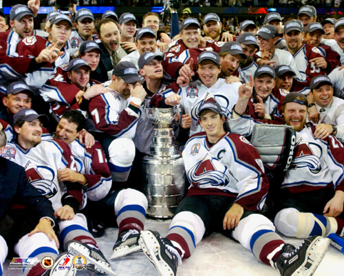 Stanley Cup - Colorado Avalanche 2001