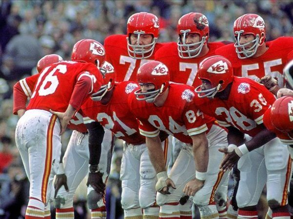 Super Bowl IV Kansas City Chiefs 1970
