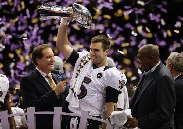 Super Bowl - Ravens 2012